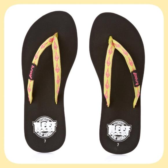bda9fdc355c70b 👣REEF Ginger Flip Flop